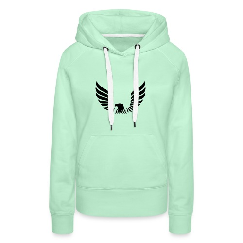 Aguila - Sudadera con capucha premium para mujer