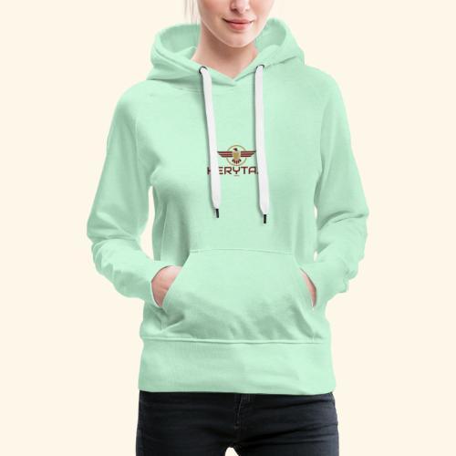 400dpiLogo - Sweat-shirt à capuche Premium pour femmes