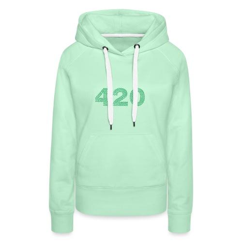 420 Cannabis Marihuana - Frauen Premium Hoodie