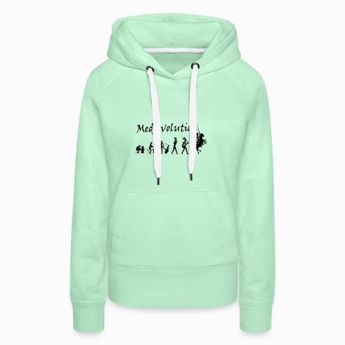 Medievolution - Sweat-shirt à capuche Premium pour femmes