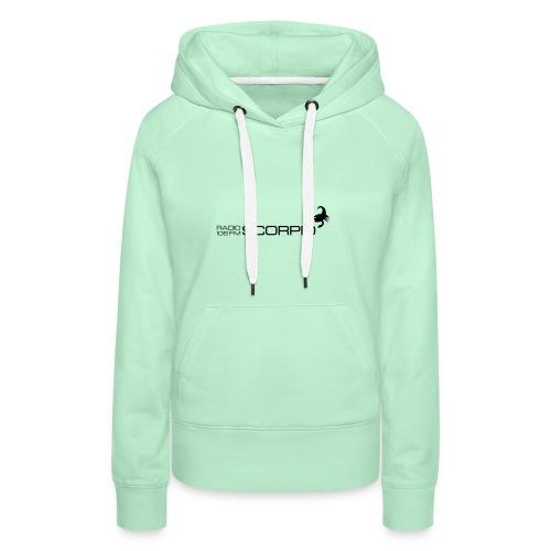 scorpio logo - Vrouwen Premium hoodie