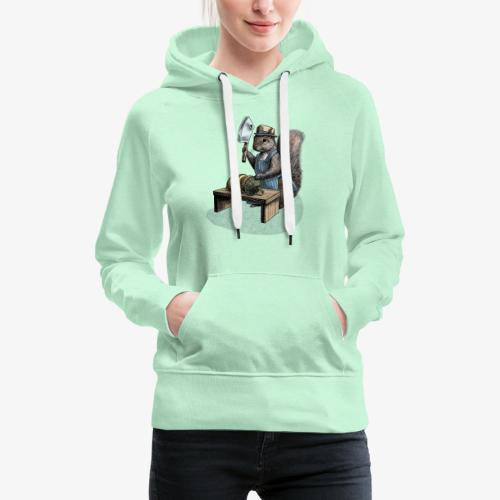 Squirrel nut cracker - Women's Premium Hoodie