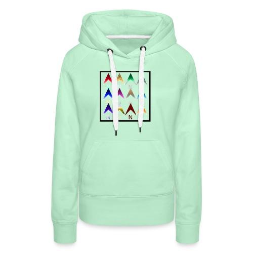 Noordpijlen - Vrouwen Premium hoodie