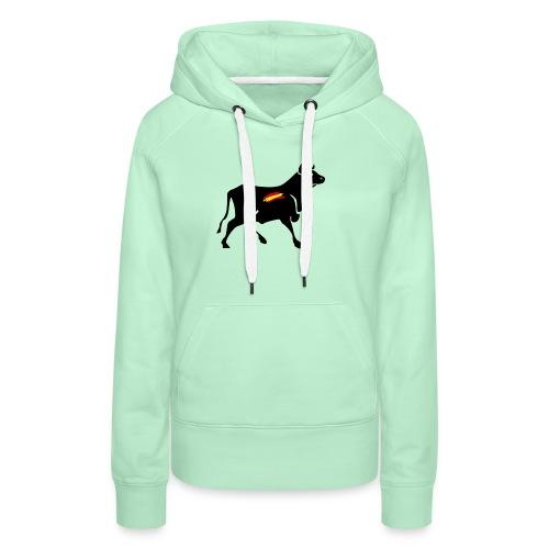toro español - Sudadera con capucha premium para mujer