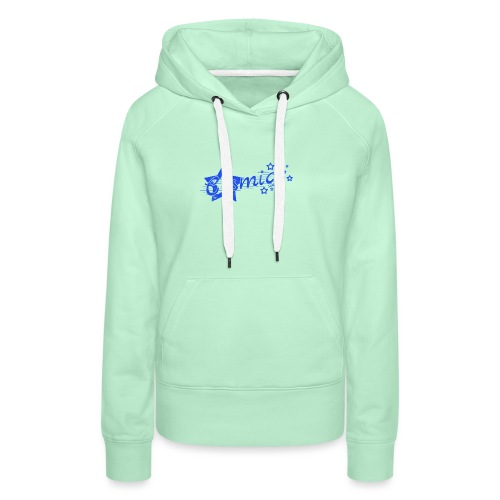 CosmicSound Blue - Frauen Premium Hoodie