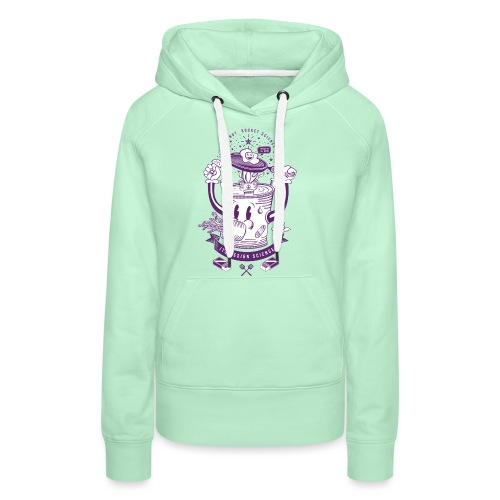 MR Rocket Stove (purple) - Women's Premium Hoodie