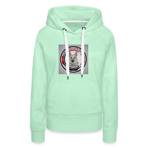 mamzelle logo - Sweat-shirt à capuche Premium pour femmes