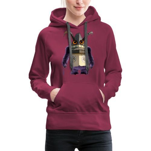 Graz Uhrturm Monster Schloßberg - Frauen Premium Hoodie
