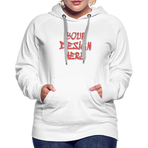 TextFX - Women's Premium Hoodie