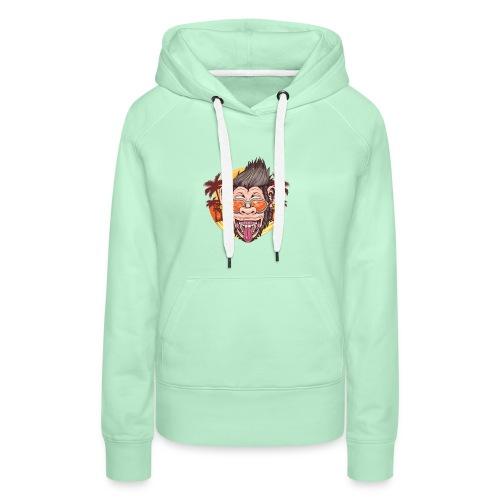 Monkey - Frauen Premium Hoodie