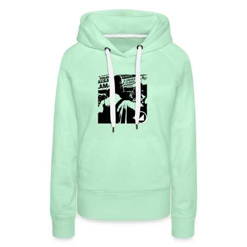 BULGEBULLFSE5 - Sudadera con capucha premium para mujer