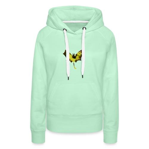 feuille - Sweat-shirt à capuche Premium pour femmes