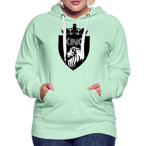 king - Sweat-shirt à capuche Premium pour femmes