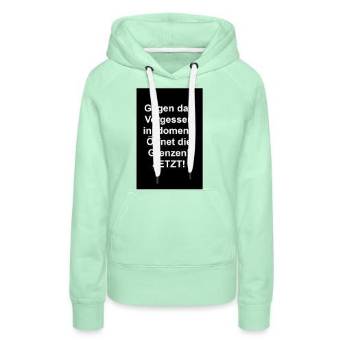 Gegen das Vergessen - Frauen Premium Hoodie