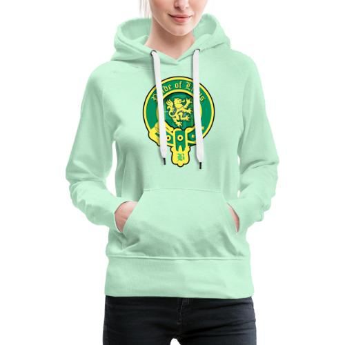 pride of lions logo - Frauen Premium Hoodie