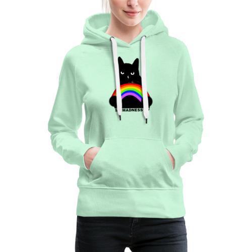 SirMadnessTV - Pride - Sweat-shirt à capuche Premium pour femmes