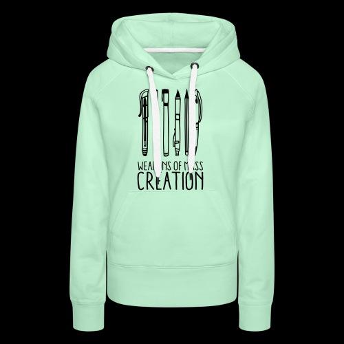 Weapons of mass creation (1c) - Sweat-shirt à capuche Premium pour femmes