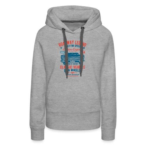 Roadway Legend - Vrouwen Premium hoodie