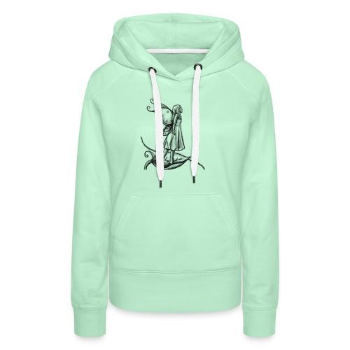 Fée par A.E Ferrets - Sweat-shirt à capuche Premium pour femmes