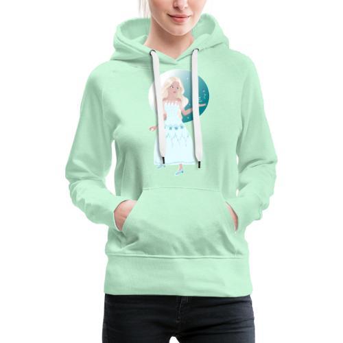 Frozen Princess - Sweat-shirt à capuche Premium pour femmes