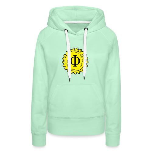 Phi-Sciences - Sweat-shirt à capuche Premium pour femmes