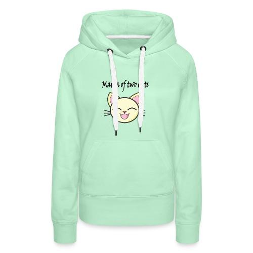 Katzen mama Katzenshirt - Frauen Premium Hoodie