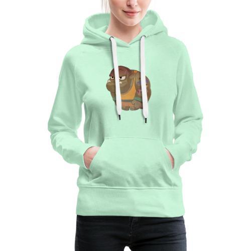 Brabucon00001 - Sudadera con capucha premium para mujer