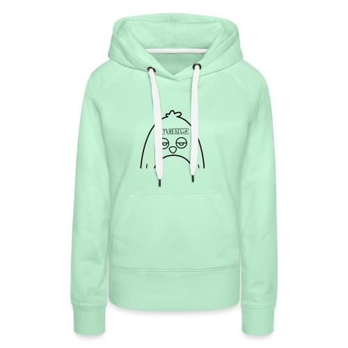 Azerty Syndrome - Sweat-shirt à capuche Premium pour femmes