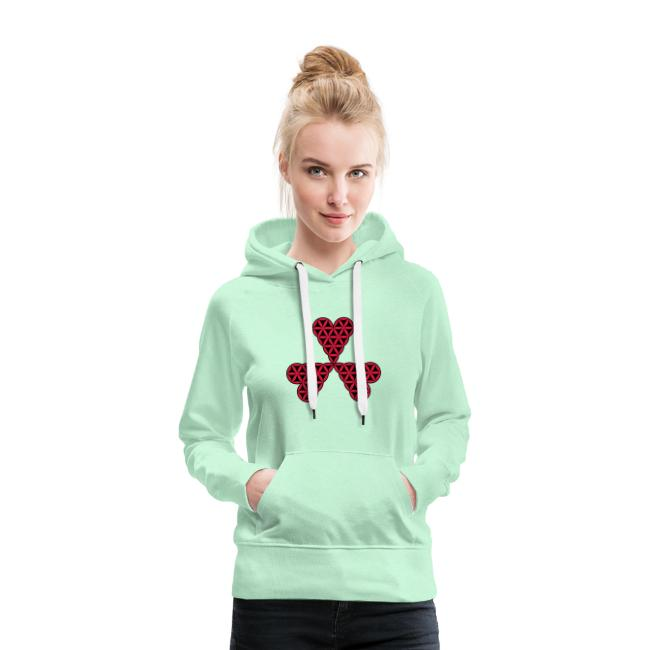 Heart of Life x 3 - Vector with custom color