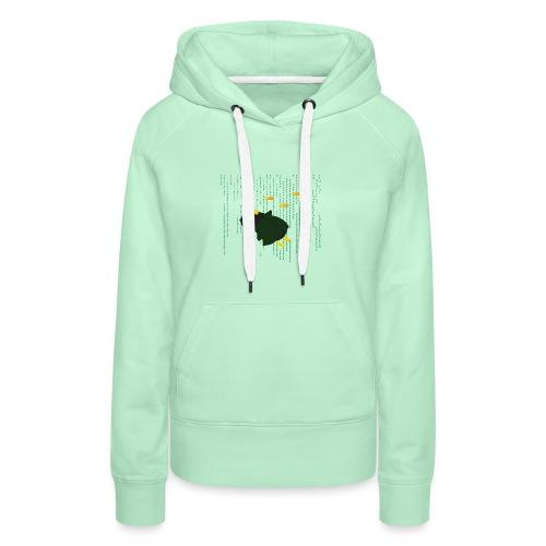 Pingouin Bullet Time - Sweat-shirt à capuche Premium pour femmes