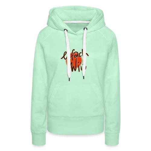 ew logo 2zeilig - Frauen Premium Hoodie