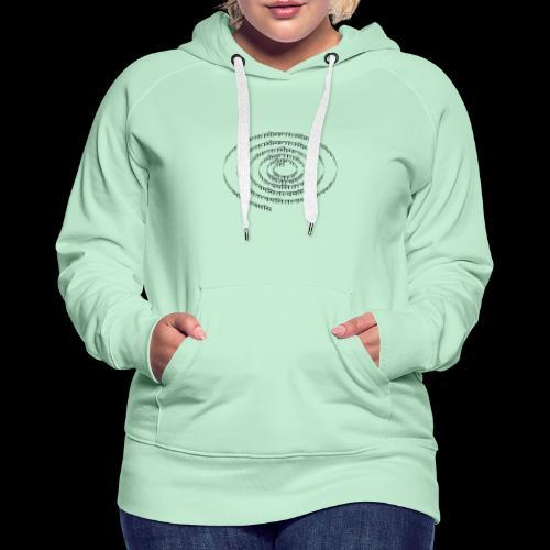 spiral tattvamasi - Frauen Premium Hoodie