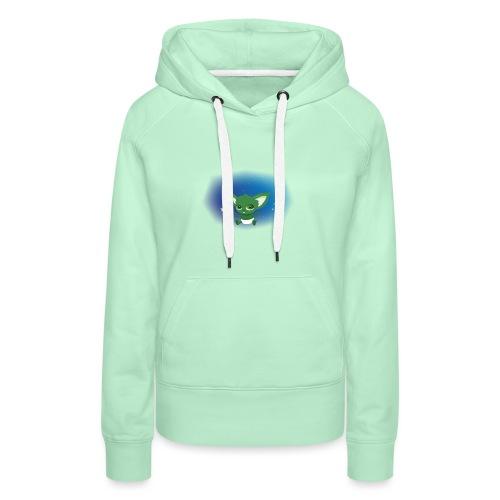 Baby Yodi - Sweat-shirt à capuche Premium pour femmes