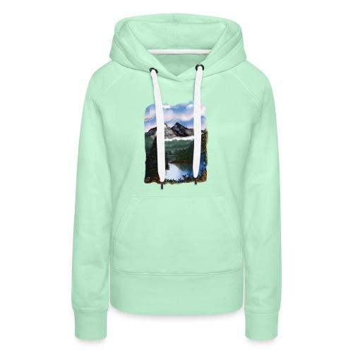 Mystic Mountain - Frauen Premium Hoodie
