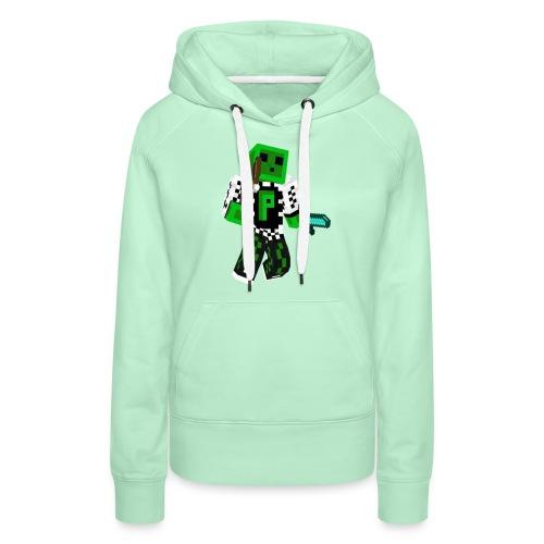 Schleimboy Hadndycover Neu png - Frauen Premium Hoodie