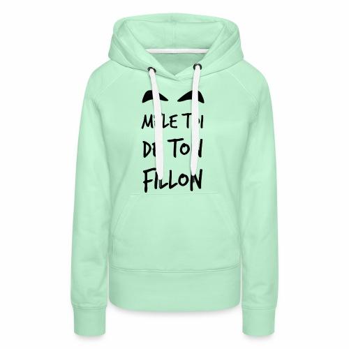 Mele_toi_de_ton_fillon_ - Sweat-shirt à capuche Premium pour femmes