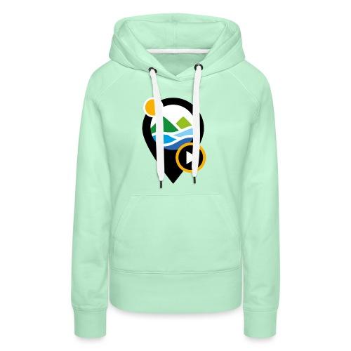PICTO - Sweat-shirt à capuche Premium pour femmes