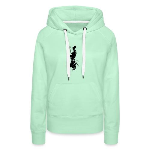 SAMURAI BUSHIDO - Sweat-shirt à capuche Premium pour femmes