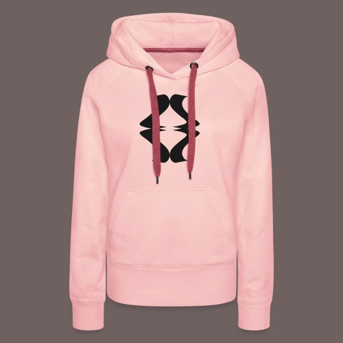 GBIGBO zjebeezjeboo - Rock - As de pique - Sweat-shirt à capuche Premium pour femmes