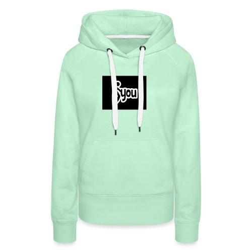 fuck you 69700 - Sweat-shirt à capuche Premium pour femmes