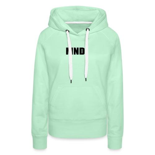 MND. - Vrouwen Premium hoodie