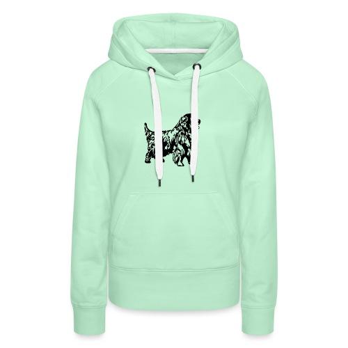 Neufundländer - Frauen Premium Hoodie