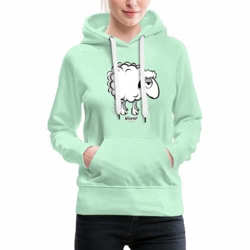 10-46 WINNER SHEEP - Products - Naisten premium-huppari
