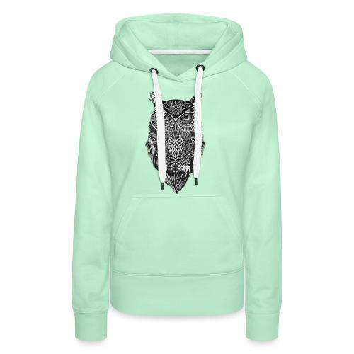 uil_groot - Vrouwen Premium hoodie
