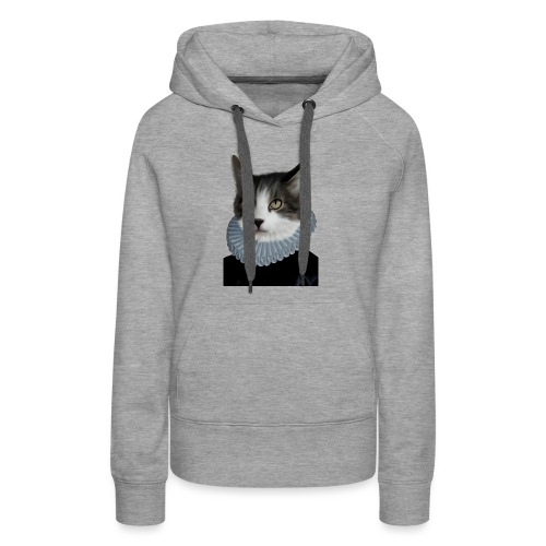 Noble Cat - Frauen Premium Hoodie