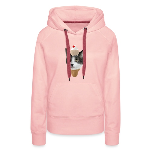 Ice Cream Cat - Frauen Premium Hoodie