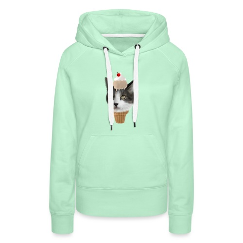 Ice Cream Cat - Frauen Premium Hoodie