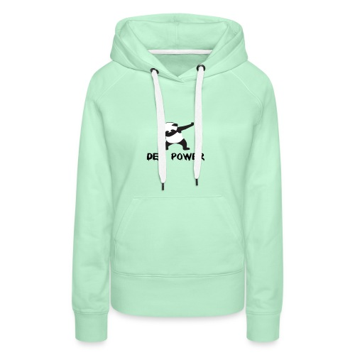 Dep Power kledij - Vrouwen Premium hoodie
