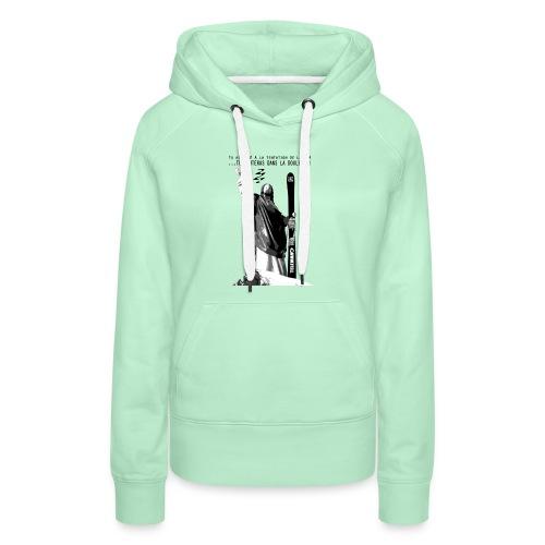 2017 Jesus Telemark - Sweat-shirt à capuche Premium pour femmes