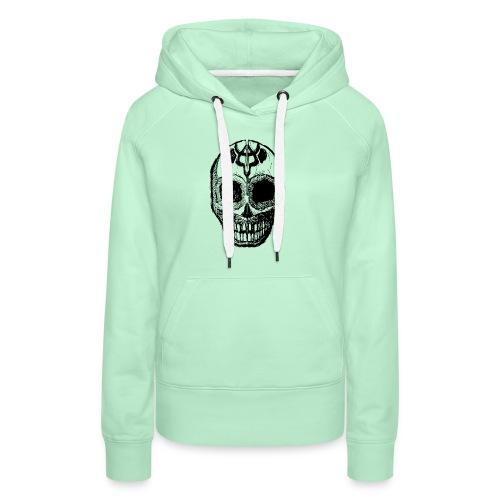 Skull of Discovery - Women's Premium Hoodie
